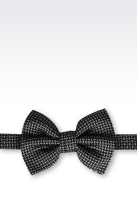 Armani Bow Ties Men silk bow tie