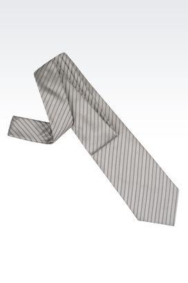 Armani Cravatte Uomo cravatta in seta a righe