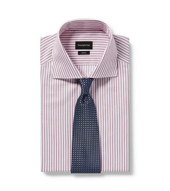 ERMENEGILDO ZEGNA: Cravate Bleu d'azur - 46439878FC