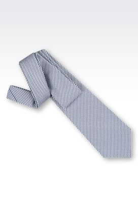 Armani Ties Men tie in silk and cotton