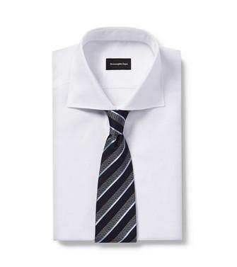ERMENEGILDO ZEGNA: Cravate Bleu - 46440159SX