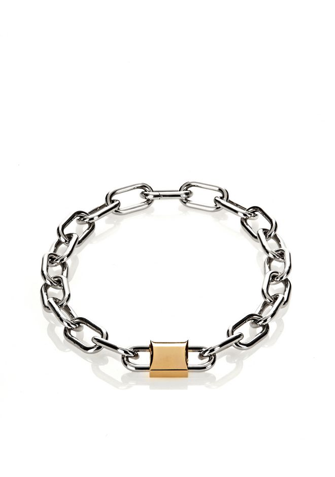 ALEXANDER WANG jewelry DOUBLE LOCK NECKLACE