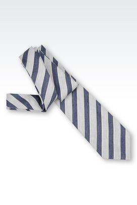 Armani Ties Men silk blend tie