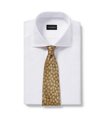 ERMENEGILDO ZEGNA: Cravatta Cammello - 46443446VP