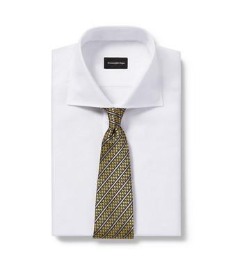 ERMENEGILDO ZEGNA: Cravate Chameau - 46443447PR