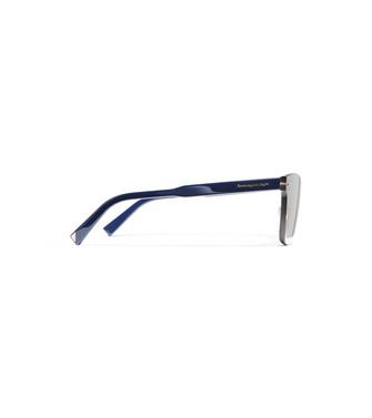 ERMENEGILDO ZEGNA: Occhiali Da Sole Blu - 46443452AV