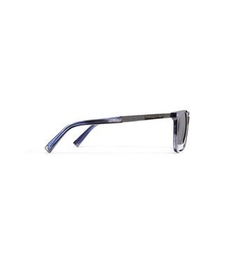ERMENEGILDO ZEGNA: Occhiali Da Sole Blu - 46443454LG