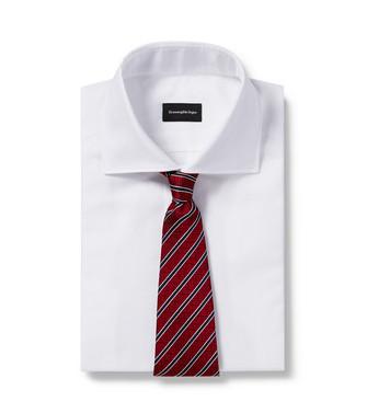 ERMENEGILDO ZEGNA: Cravate Bleu - 46445163BU
