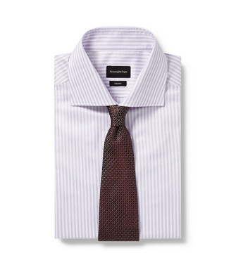 ERMENEGILDO ZEGNA: Tie Deep purple - 46445167UF