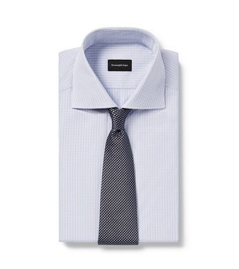 ERMENEGILDO ZEGNA: Corbata Azul marino - 46445168IL