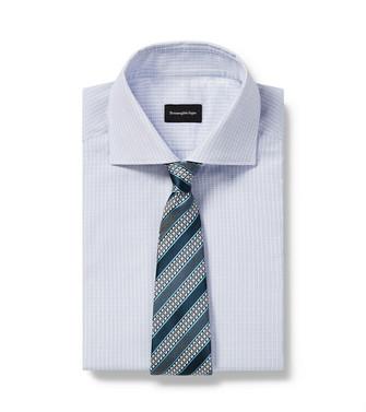 ERMENEGILDO ZEGNA: Cravate Vert - 46445169TI