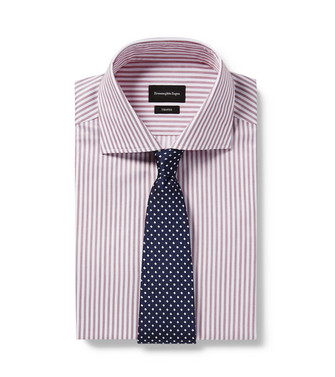 ERMENEGILDO ZEGNA: Cravate Bleu - 46445172RA