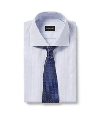 ERMENEGILDO ZEGNA: Tie Blue - 46445175XI