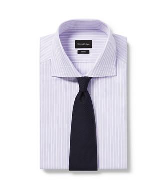 ERMENEGILDO ZEGNA: Corbata Azul marino - 46445176LJ