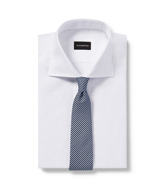 ERMENEGILDO ZEGNA: Corbata Azul celeste - 46445177KD