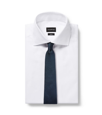 ERMENEGILDO ZEGNA: Tie Blue - 46445183DH