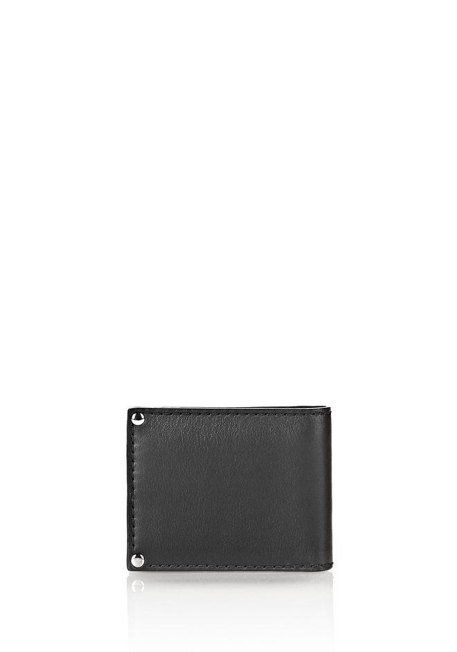 MASON BI-FOLD WALLET IN SMOOTH BLACK