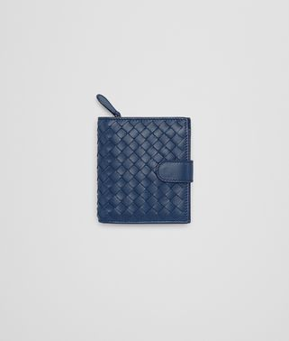 MINI WALLET IN PACIFIC INTRECCIATO NAPPA