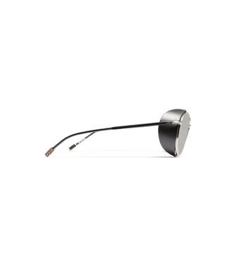 ERMENEGILDO ZEGNA: Sunglasses Black - 46447249QS