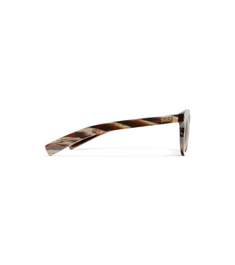 ERMENEGILDO ZEGNA: Sunglasses Dark brown - 46447252VC