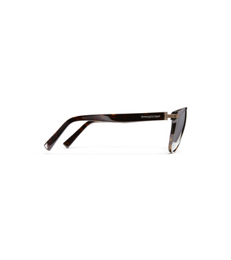 ERMENEGILDO ZEGNA: Sunglasses Brown - 46447258TM
