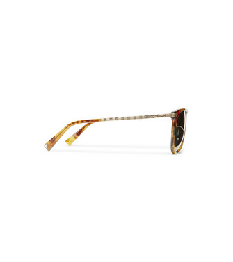 ERMENEGILDO ZEGNA: Sunglasses Brown - 46447328AE