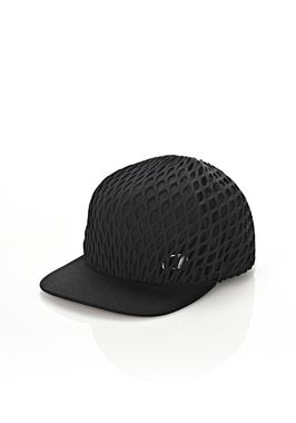 RUNWAY BASEBALL CAP WITH NET OVERLAY