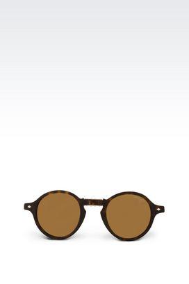 Armani Sunglasses Men sunglasses with polarised lenses