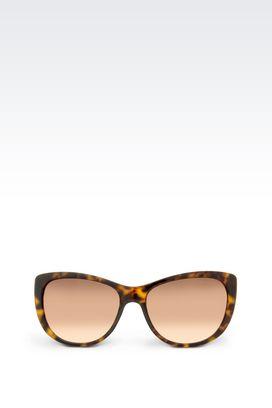 Armani full fitting Women full fitting sunglasses in acetate