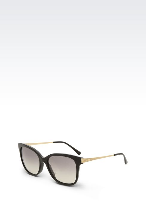FULL FITTING SUNGLASSES IN ACETATE