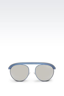 Armani Sunglasses Men metal sunglasses