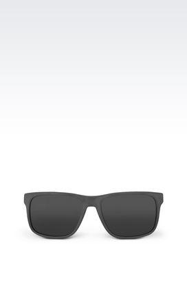 Armani Full fitting Men full fitting sunglasses in acetate