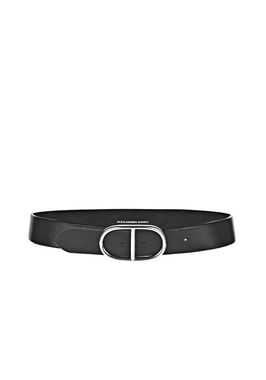 RUNWAY PILL BELT IN BLACK