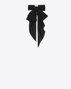クラシック サンローラン ボウタイ(ブラック/シルくクレープ)