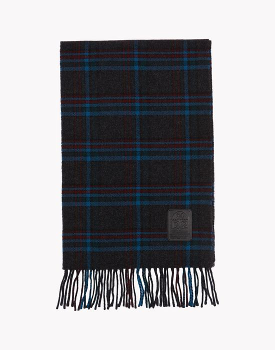 checkered scarf other accessories Man Dsquared2