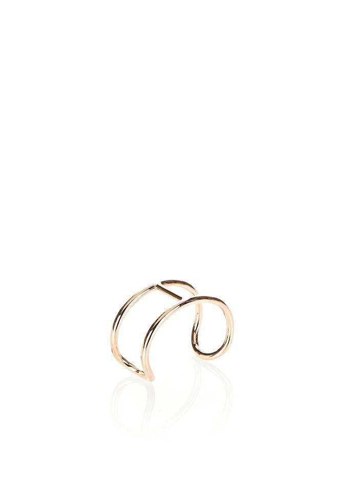ALEXANDER WANG jewelry PILL CUFF BRACELET IN ROSE GOLD
