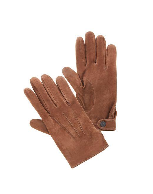 lanvin suede gloves  men