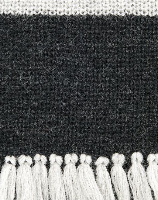lanvin long scarf with fringe men