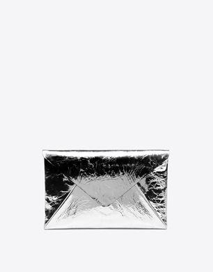 Maison Margiela Mirror-effect calfskin pouch