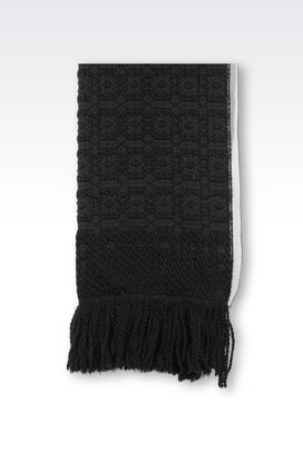 Armani Stoles Women wrap in wool blend