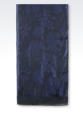 Armani Stoles Women wrap in floral fabric