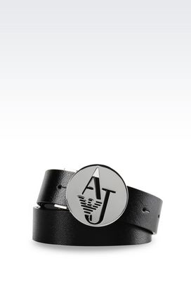 Armani Ledergürtel Für sie gürtel aus saffiano-leder