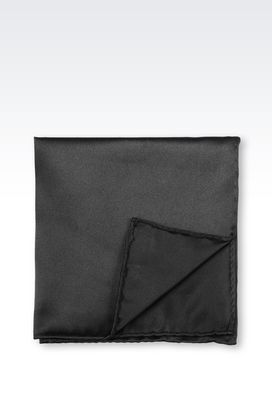 Armani Pocket handkerchiefs Men silk clutch