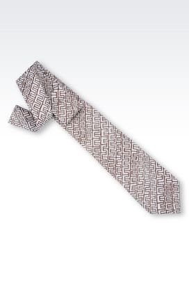 Armani Ties Men wool tie