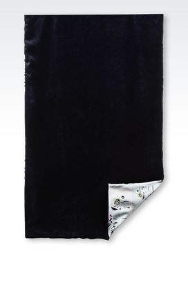 Armani Stoles Women wrap in velvet and silk