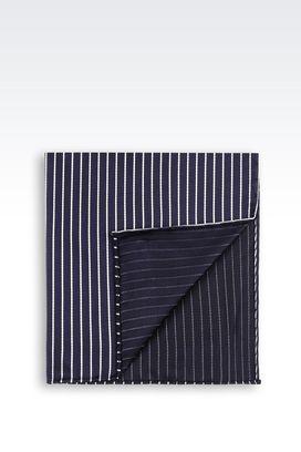 Armani Pocket squares Men silk pocket square