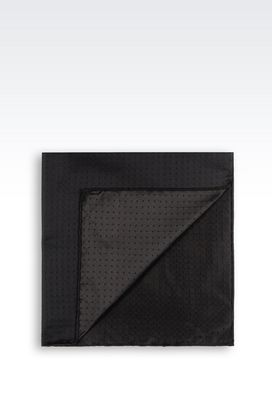 Armani Pochette Uomo pochette in seta
