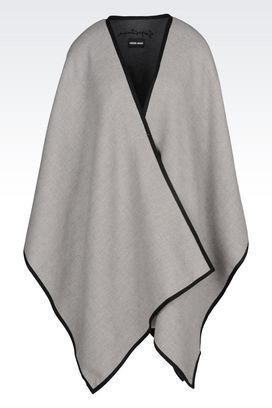 Armani Scarves Women cloak in wool