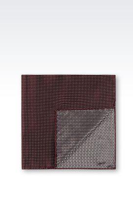 Armani Foulards Men silk pocket square