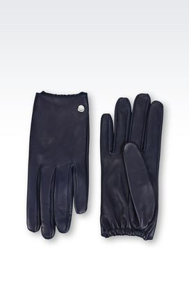 Armani Gloves Women napa leather gloves